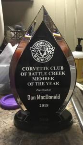 DAN's trophy
